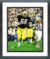 Green Bay Packers Ray Nitschke 1971 Action Framed Photo