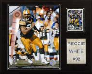 """Green Bay Packers Reggie White 12 x 15"""" Player Plaque"""
