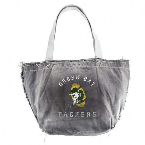Green Bay Packers Retro NFL Vintage Tote Bag