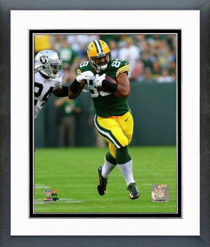 Green Bay Packers Richard Rodgers 2014 Action Framed Photo