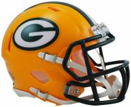 Green Bay Packers Riddell Speed Mini Collectible Football Helmet