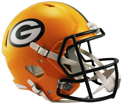 Green Bay Packers Riddell Speed Collectible Football Helmet