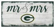 Green Bay Packers Script Mr. & Mrs. Sign