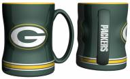 Green Bay Packers Sculpted Relief Coffee Mug