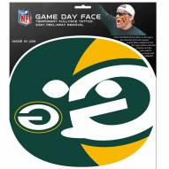 Green Bay Packers Set of 4 Game Day Faces