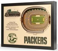 Green Bay Packers 25-Layer StadiumViews 3D Wall Art