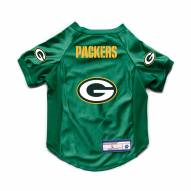 Green Bay Packers Stretch Dog Jersey