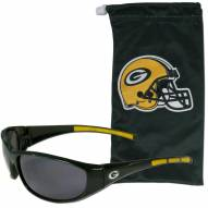 Green Bay Packers Sunglasses and Bag Set