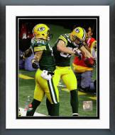 Green Bay Packers Super Bowl XLV Action Framed Photo
