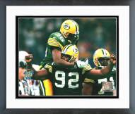 Green Bay Packers Super Bowl XXXI 1997 Action Framed Photo