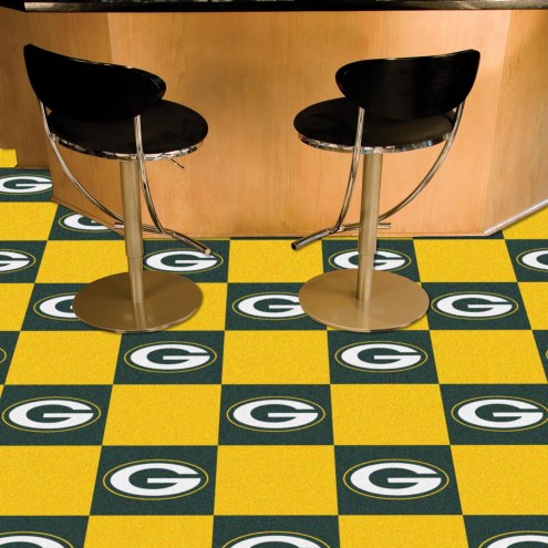 Green Bay Packers Team Carpet Tiles