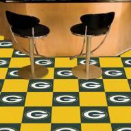 Green Bay Packers Team Carpet Tiles