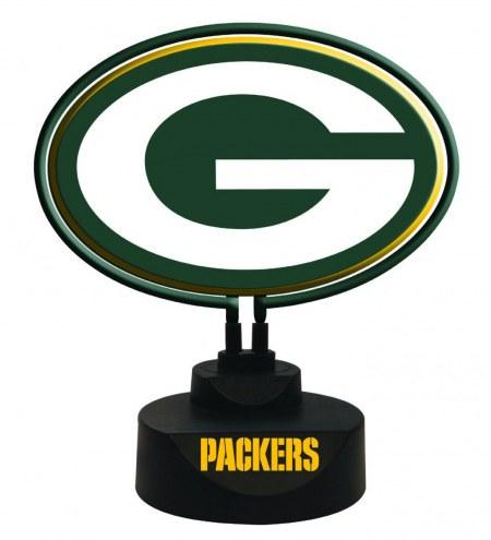 Green Bay Packers Team Logo Neon Light