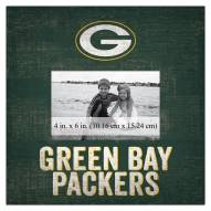 """Green Bay Packers Team Name 10"""" x 10"""" Picture Frame"""