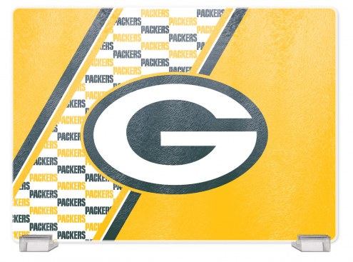 Green Bay Packers Tempered Glass Cutting Board