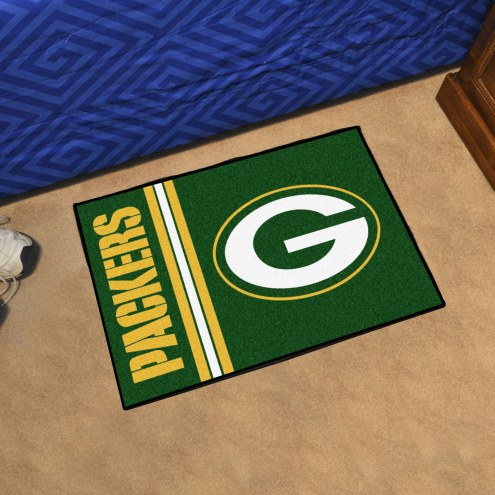 Green Bay Packers Uniform Inspired Starter Rug