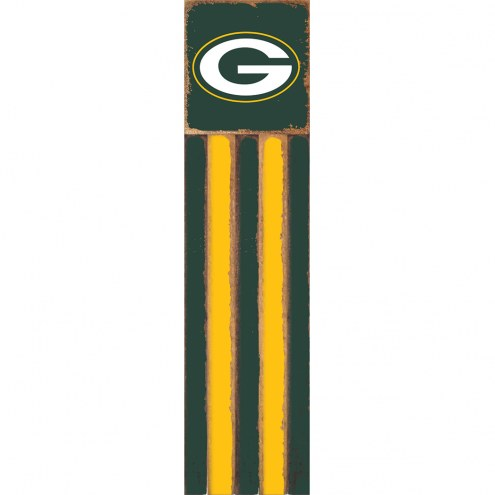 Green Bay Packers Vertical Flag Wall Sign