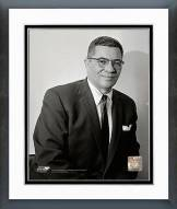 Green Bay Packers Vince Lombardi 1959 Posed Framed Photo
