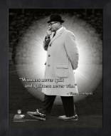 Green Bay Packers Vince Lombardi Winners Framed Pro Quote