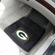 Green Bay Packers Vinyl 2-Piece Car Floor Mats