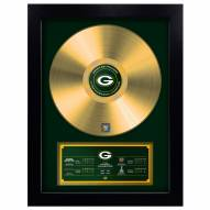 Green Bay Packers Vinyl Gold Record