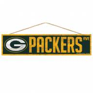 Green Bay Packers Wood Avenue Sign
