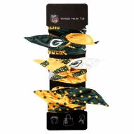 Green Bay Packers Wired Hair Tie