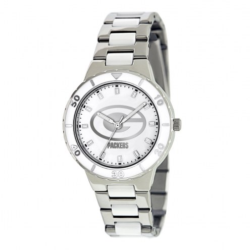 Green Bay Packers Womens Pearl Watch