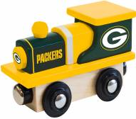 Green Bay Packers Wood Toy Train