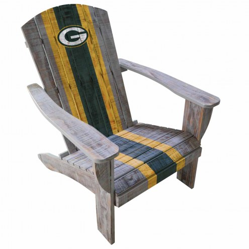 Green Bay Packers Wooden Adirondack Chair