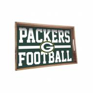 Green Bay Packers Wooden Serving Tray