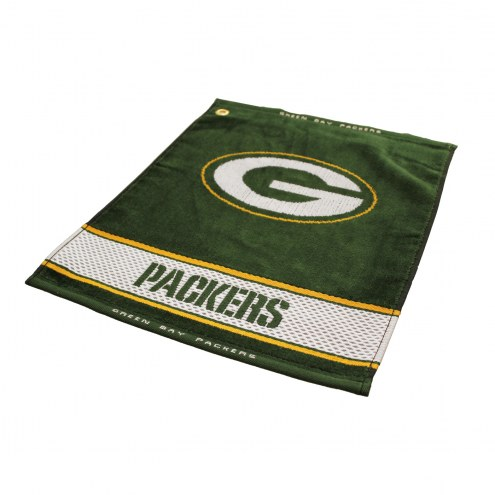 Green Bay Packers Woven Golf Towel