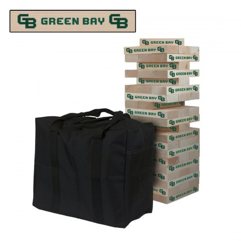 Green Bay Phoenix Giant Wooden Tumble Tower Game