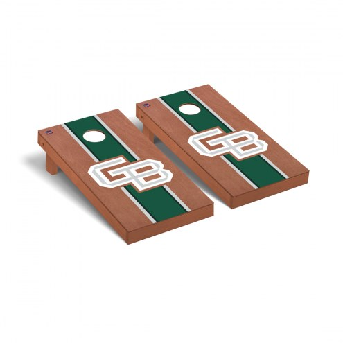 Green Bay Phoenix Rosewood Stained Stripe Cornhole Game Set