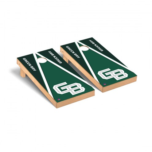 Green Bay Phoenix Triangle Cornhole Game Set