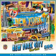 Greetings From New York City 550 Piece Puzzle