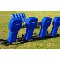 Hadar Athletic One Man Middle School Football Blocking Sled with Full Body Pad