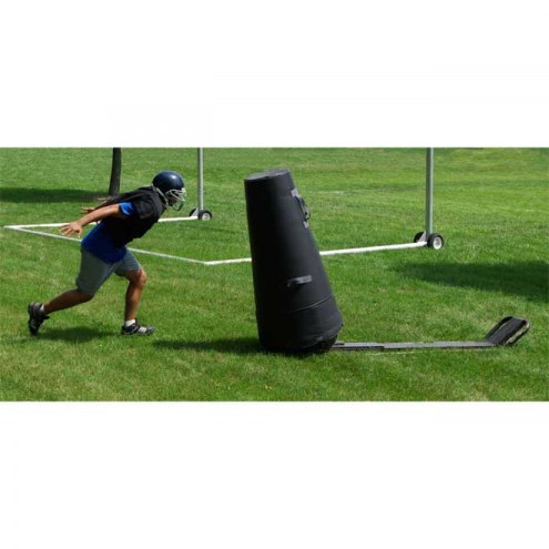 """Hadar Athletic Pop-up Football Sled with 52"""" Cone Dummy"""