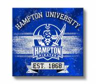 Hampton Pirates Banner Canvas Wall Art