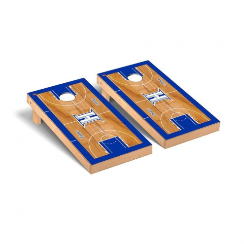 Hampton Pirates Basketball Court Cornhole Game Set