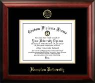 Hampton Pirates Gold Embossed Diploma Frame