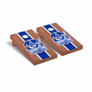 Hampton Pirates Rosewood Stained Cornhole Game Set