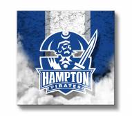 Hampton Pirates Vintage Canvas Wall Art