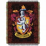 Harry Potter Gryffindor Shield Throw Blanket
