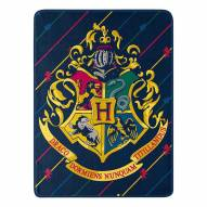 Harry Potter House Pinstripes Micro Raschel Throw Blanket