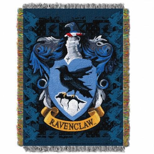 Harry Potter Ravenclaw Crest Throw Blanket