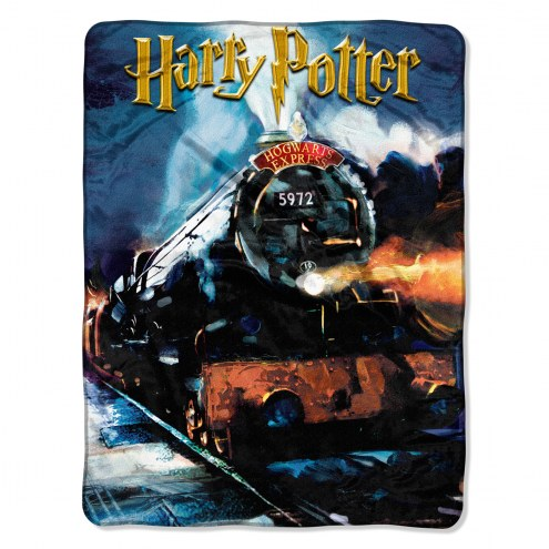 Harry Potter To Hogwarts Micro Raschel Throw Blanket