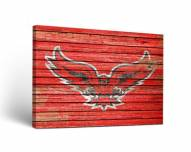 Hartford Hawks Weathered Canvas Wall Art