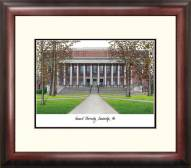 Harvard Crimson Alumnus Framed Lithograph
