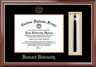 Harvard Crimson Diploma Frame & Tassel Box